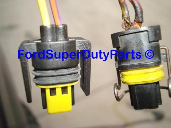 IPR VGT Solenoid Connector Pigtail - FordPartsOne