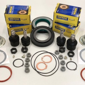 Super Duty F250 F350 4x4 Complete Ball Joint Kit 2005 2010 Image 1