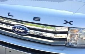 Ford FLEX Titanium Black Hood Letter Kit 2009 2010 2011 2012 2013 - FordPartsOne