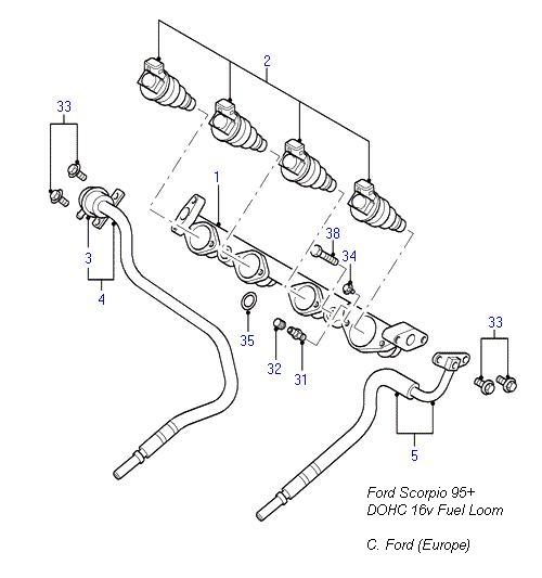P0193 Mazda Fuel Rail Pressure Sensor Circuit High Input