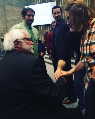 Rick Joyner, one of the speakers at a conference in Portland where Jason served James Goll and ministered to the congregation