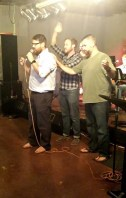 Praying with David Kaufman at NHOP