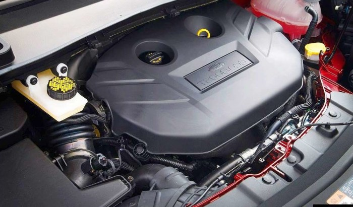 2021 Ford Escape Engine