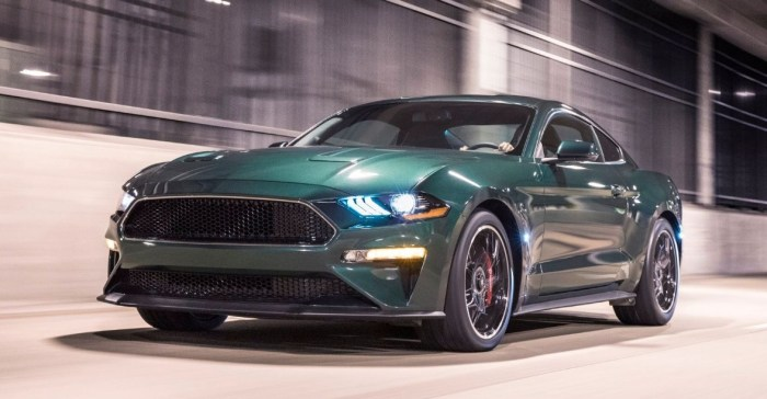 2021 Ford Mustang Exterior
