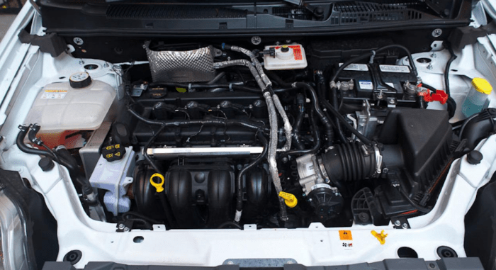 2022 Ford Transit Connect Engine