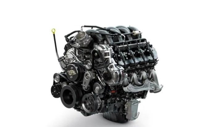 2022 Ford F750 Engine