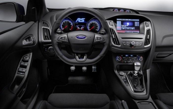 2023 Ford Focus RS Interior