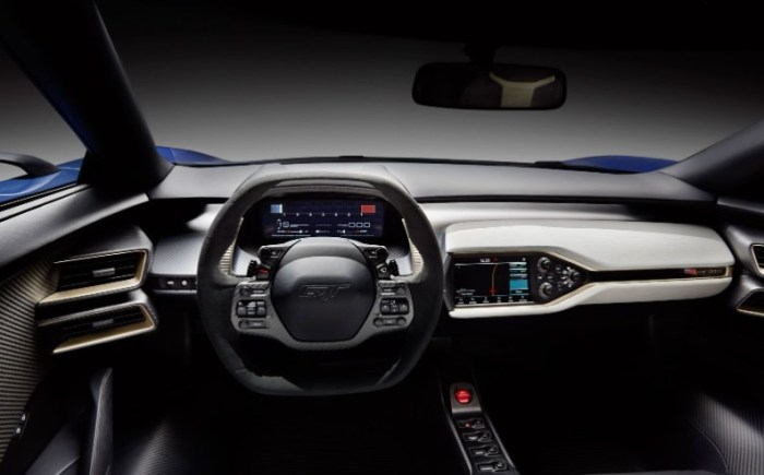 2023 Ford GT Interior