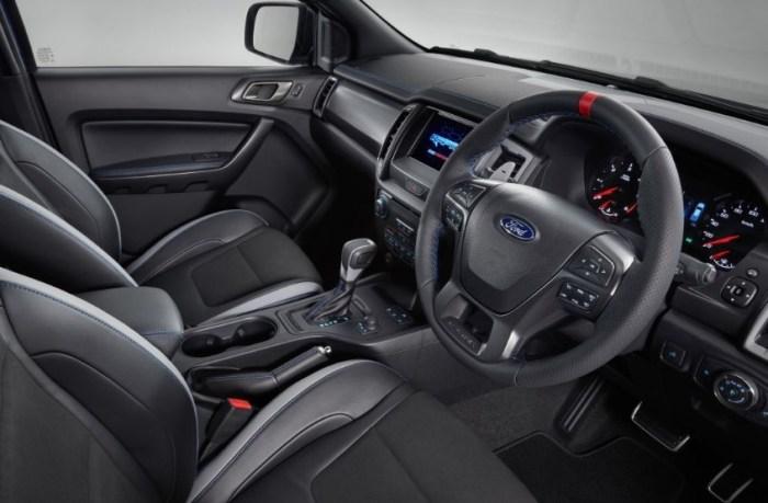 2023 Ford Ranger Wildtrak Interior