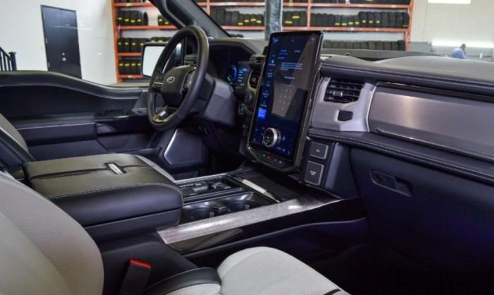 2023 Ford F 150 Interior