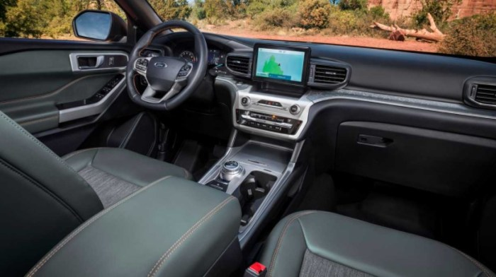 2022 Ford Explorer Timberline Interior