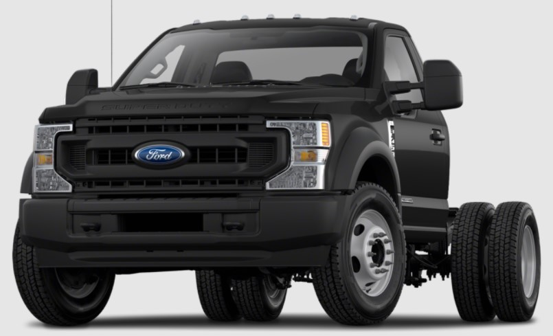 2022 Ford F550 Exterior