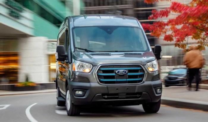 2022 Ford Transit Exterior