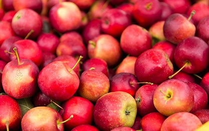 The apple market remains firm this week as demand remains good