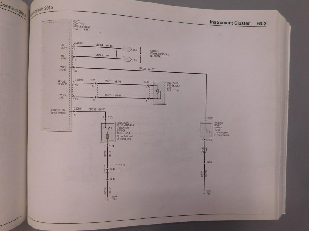 medium resolution of 2015 parking brake wiring diagram