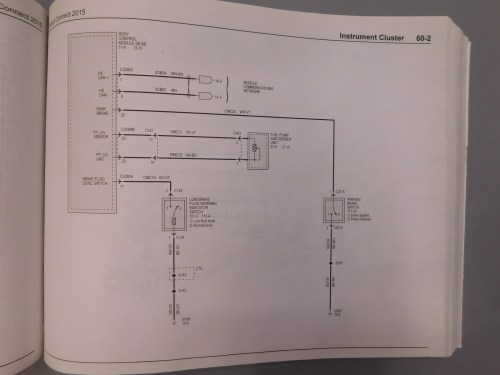 small resolution of 2015 parking brake wiring diagram