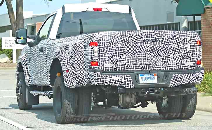 Next Gen F250 starting with the rear-drive
