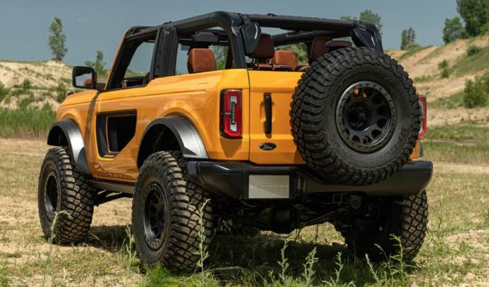 2022 Ford Bronco: with exciting capabilities and retro styling that give it an edge