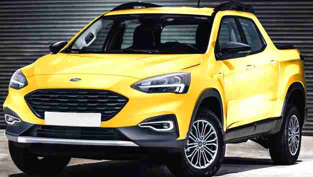 ford courier truck It will represent the Blue Oval company in the segment of compact unibody pickups