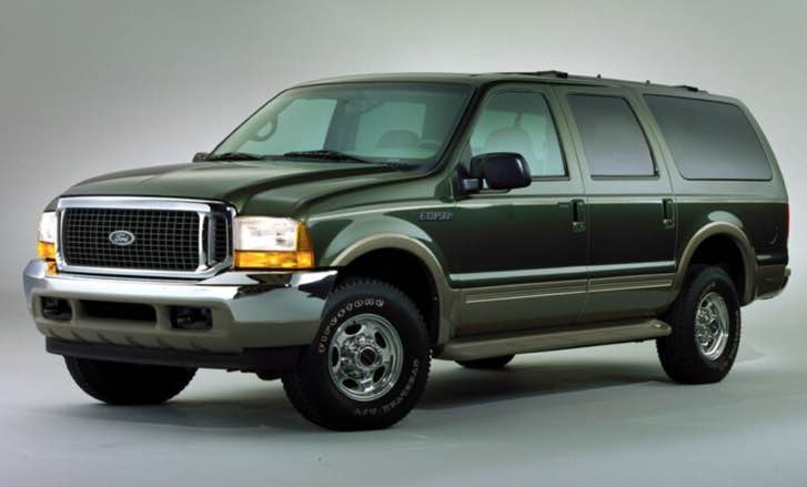 new ford excursion The Ford Excursion was a great example of the 'bigger is better' mentality that dominated the US auto industry
