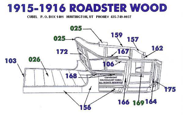 1915 ford model t wiring diagram 2000 honda civic car stereo radio 1913 1927 roadster wood