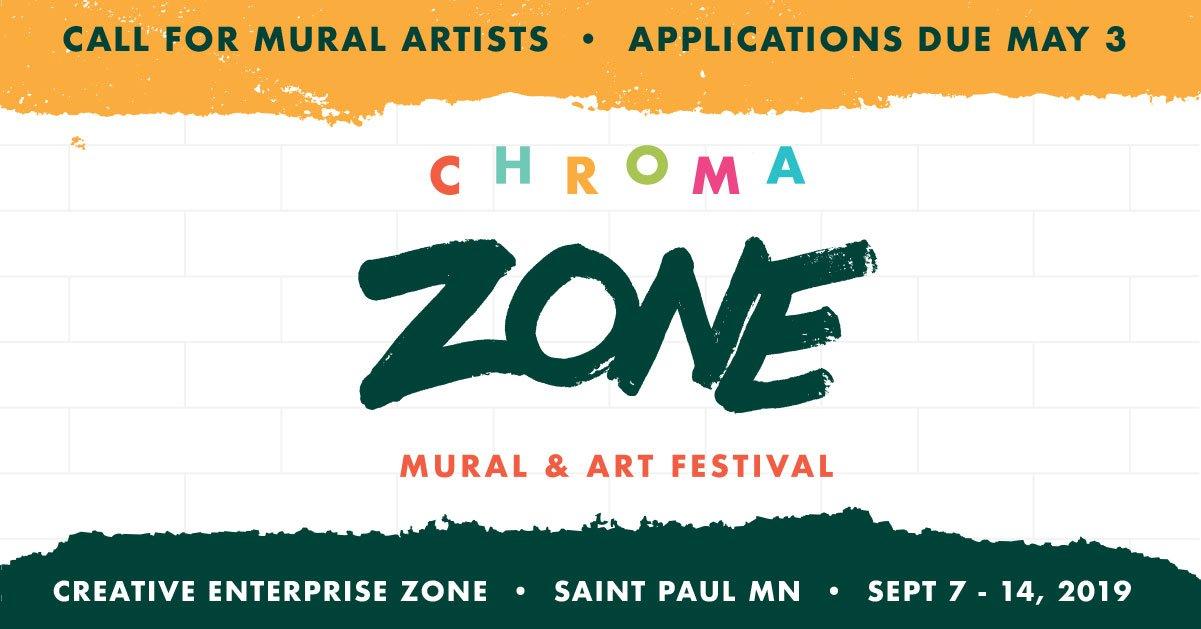 Forecast Public Art Artist Call: CHROMA ZONE MURAL & ART FESTIVAL