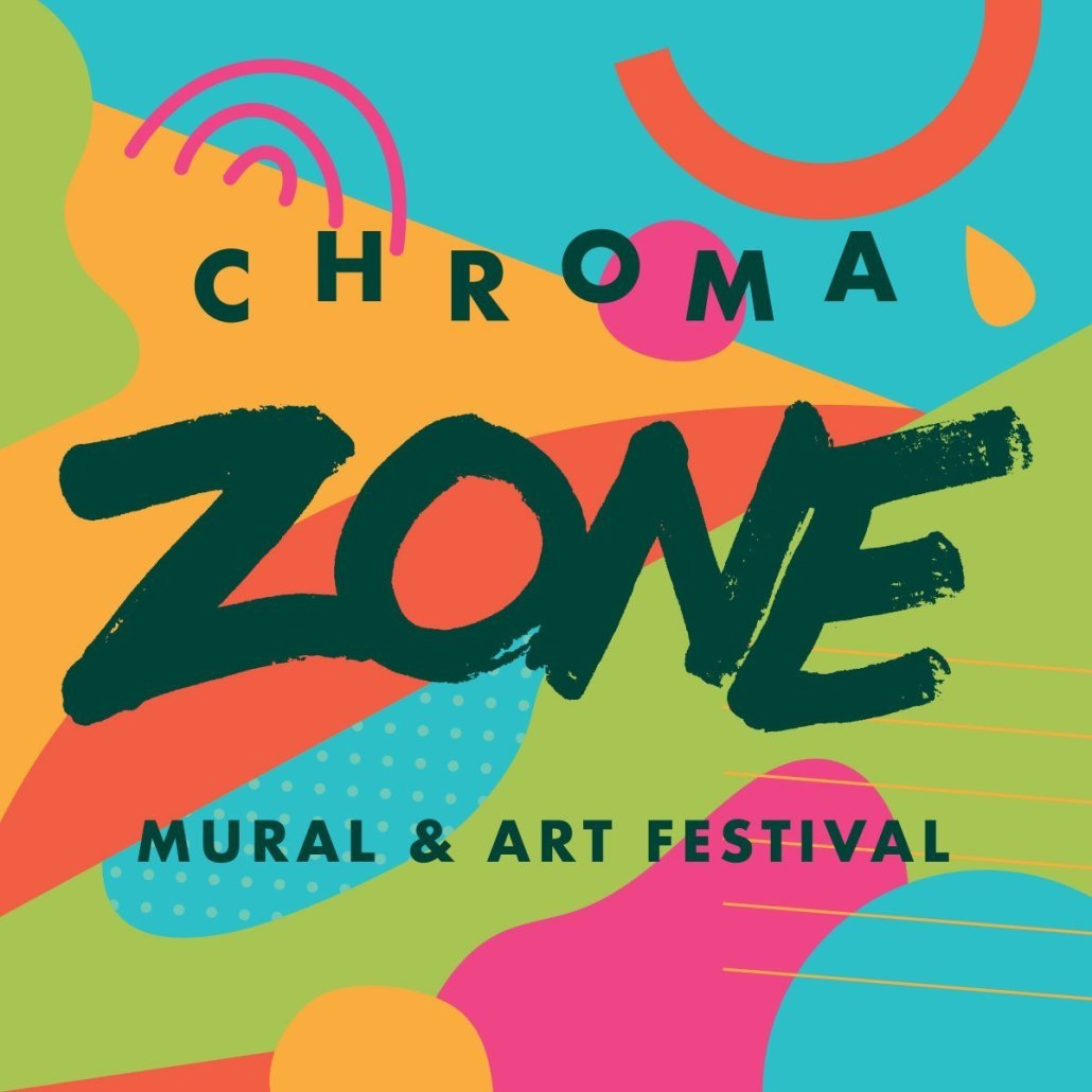 Artists Announced! CHROMA ZONE Mural & Art Festival
