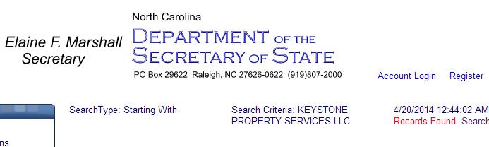 Where Is The North Carolina Business License NSA Boy?!
