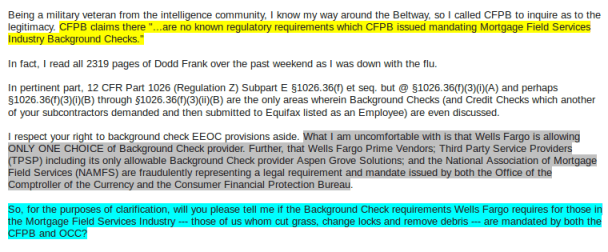 Colored Highlighting Added By Wells Fargo And Delivered To Foreclosurepedia