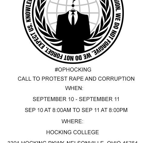 Anonymous #OpHocking @OpHocking2015