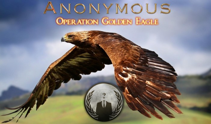 Anonymous: Operation Golden Eagle Press Release