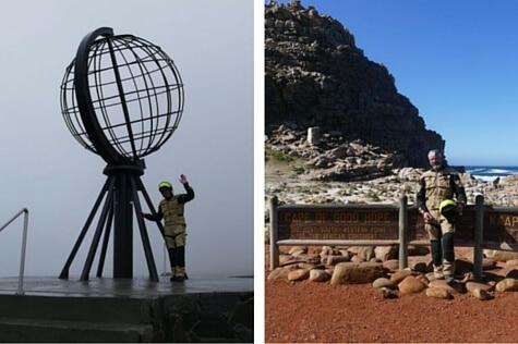 Fra Nord Kap til Cape Town