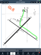 The diagram for Lumberton, NC shows annotations, a ForeFlight Mobile Pro feature.