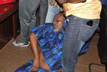 Dino Melaye Lands In Hospital After Police Face-off