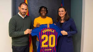 2019 FIFA Women's World Cup: Oshoala Joins Barcelona