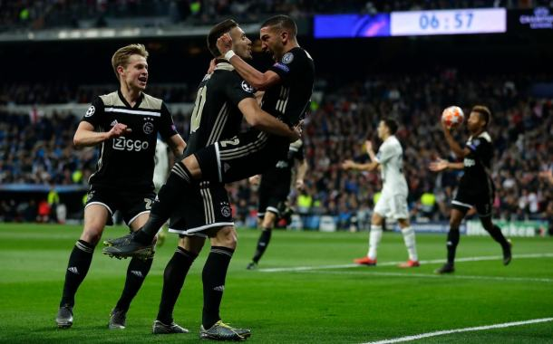 UEFA Champions League: Ajax Stun Madrid 4-1