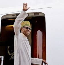 Buhari Leaves For Saudi Arabia Monday
