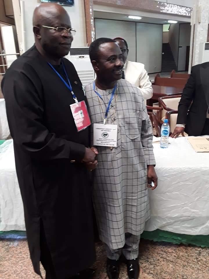 Ayokunle Retains CAN Presidency