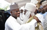 Dino Melaye Blasts Gov Bello For Embracing Royal Father Publicly