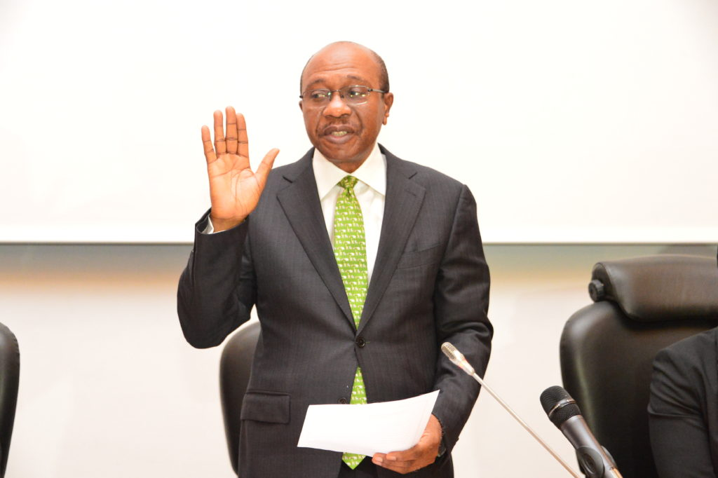 Emefiele Flags-off 2nd Term As CBN Gov, Says New 5-year Roadmap Coming!