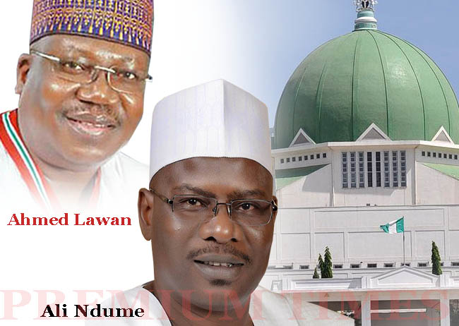 Senate Presidency: As Lawan, Ndume Square Up...