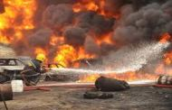 Ijegun Residents Stop Pipeline Fire