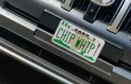 'CHIP WHIP' Number Plate Not Produced By Us – FRSC