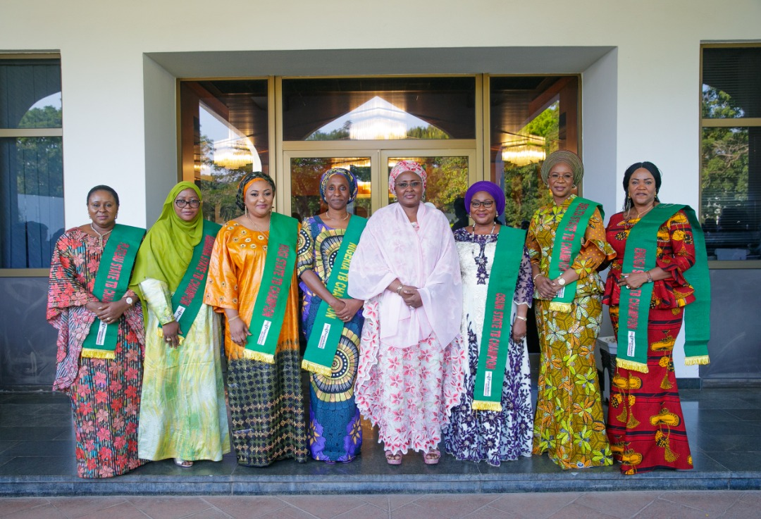 Aisha Buhari Applauds Governors' Wives On Maternal And Child Health