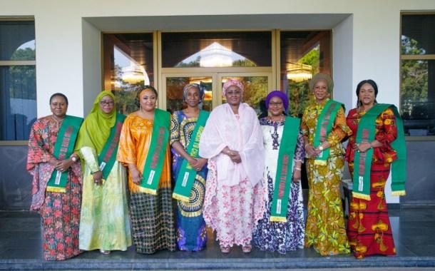 Aisha Buhari Applauds Governors' Wives On Maternal And Child Health
