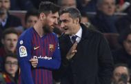 'Thanks For Everything' - Messi Wishes Coach Valverde Well