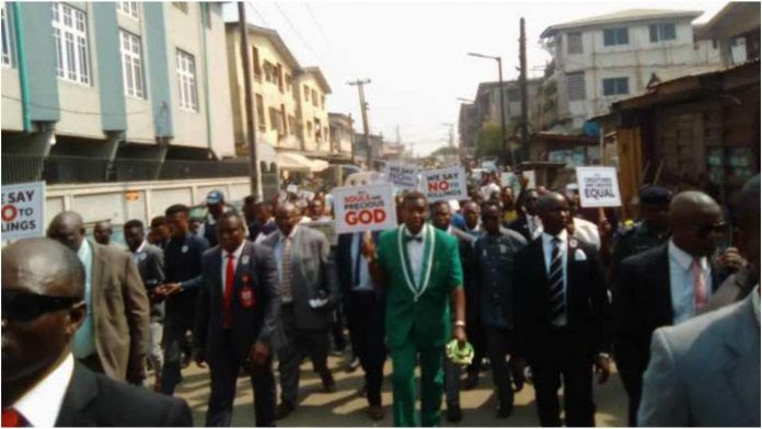 Insecurity: Redeemed General Overseer, Pastor Adeboye Leads Protest In Lagos