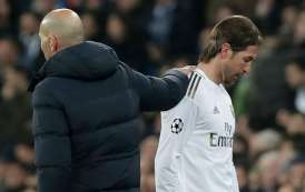 Sergio Ramos Sees Red As Real Madrid Lose 1 - 2 To Man City