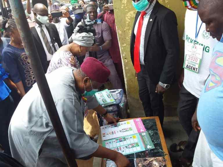 Governor Ishaku Expresses Satisfaction With Conduct of LG Polls In Taraba