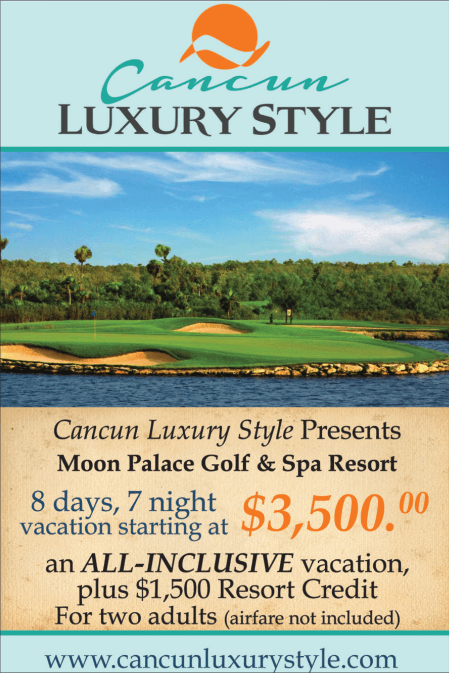 Cancun Luxury Style Stay and Play Packages